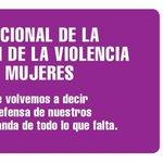 En el día internacional de la eliminación de la violencia contra las mujeres. #NoalaViolenciadeGenero #NiUnaMenos https://t.co/944U1K2SBd