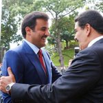@NicolasMaduro Recibirá al Emir de Catar en el Palacio de Miraflores este miércoles.#MaduroIndestructible https://t.co/q1GqhbDsrH