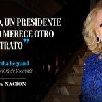 Mirtha Legrand, durísima, sobre el encuentro @MauricioMacri-@CFKArgentina https://t.co/9ehcJWswMr https://t.co/NFJoPT94vJ