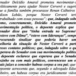 Filho de Cerveró diz que Delcídio citou encontros com Dilma e min. do STF p/ mostrar força https://t.co/vGrUI6BGbE https://t.co/IdRuu0v8PN