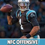 Congrats to @Panthers QB Cam Newton on being named the NFC Offensive Player of the Week. https://t.co/8Z34YF3amH