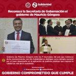"""Reconoce @SEGOB_mx gob. de @MauricioGongora con premio nacional """"Avance de la Transformación"""" otorgado #INAFED. https://t.co/bht2oGli3X"""