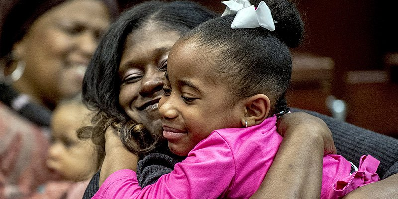 Michigan foster children find forever homes on adoption day – just in time for Thanksgiving