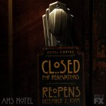 Please pardon the blood as we get your room ready. #AHSHotel returns with an all-new episode Dec 2 10PM on FX. https://t.co/VYcOaFHMhI