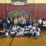 Unbelievable time at the Overtown Youth Center. What a rewarding experience for our guys to be able to give back. https://t.co/bQiaEfzT4n