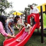 Este parque en especial cuenta con equipamiento y juegos para niñas y niños con capacidades diferentes. #Solidaridad https://t.co/UQFBHHEzMi