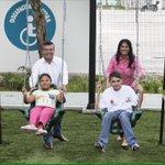 El Parque #LasPalmas complementa los espacios de diversión y entretenimiento de las niñas y niños especiales. https://t.co/Q6stnjBOjW