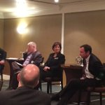 Higher Ed impact panel with @uvic @RoyalRoads @camosun hosted by @ChamberVictoria https://t.co/jcGfv0u8yp