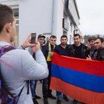 With my Armenian fans in Krasnodar :-) Thank you! https://t.co/p35ysy7Bso