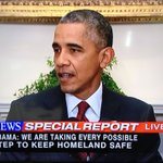 """.@POTUS: """"No specific and credible evidence indicating a threat against the homeland"""" https://t.co/xw1LKQUt8D"""