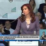 """[AHORA] #Visión7 - @CFKArgentina: """"Lo más importante es que hemos empoderado al pueblo en sus derechos"""" https://t.co/jYJmDad2Q3"""