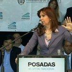 """.@CFKArgentina: """"Hemos empoderado al pueblo de sus derechos, defenderemos con ustedes las conquistas logradas"""" https://t.co/sJWDob97dn"""