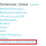 2:00PM ARGENTINA COMBATE LA TENES ADENTRO comenzó a ser TT Mundial veremos si llega al puesto número 1 ???? https://t.co/MXjwisPpuk