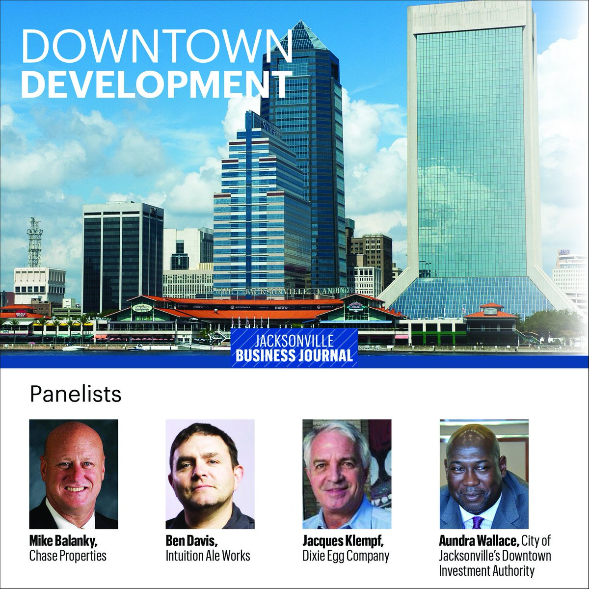 Find out on Dec. 11 what local leaders say needs to get done to #DTJax in 2016 https://t.co/341RoTQDeh https://t.co/4VTKZHsb0h