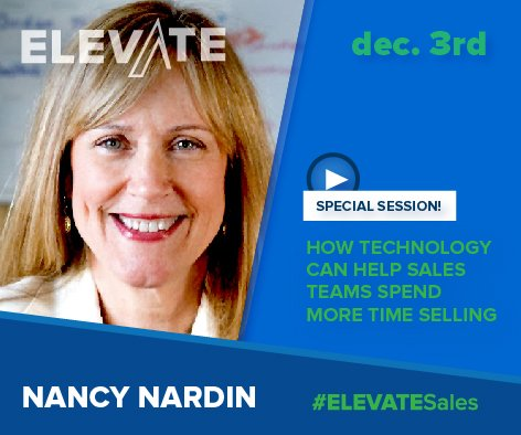 Join me on Dec. 3 as I share #salestips for 2016 – Register for #ELEVATESales https://t.co/dZLmSd0yX4 https://t.co/YBsPW4DeQo