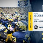 The Game. #GoBlue #BeatOSU https://t.co/BsOfgh4a9i