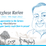 On the occasion of Dr. Kuriens Birthday, we thank the farmers he dedicated his life to! #TweetToFarmer https://t.co/49joMO61U4