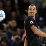 Zlatan sera capitaine face à Malmö. Cest T.Silva qui a décidé de lui donner son brassard le temps dun soir.. (C+) https://t.co/MHnYFalx7y