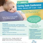 1st Annual Caring Dads Conference is coming up January 26th, 2016 in #Toronto! https://t.co/BVIXMLOA52
