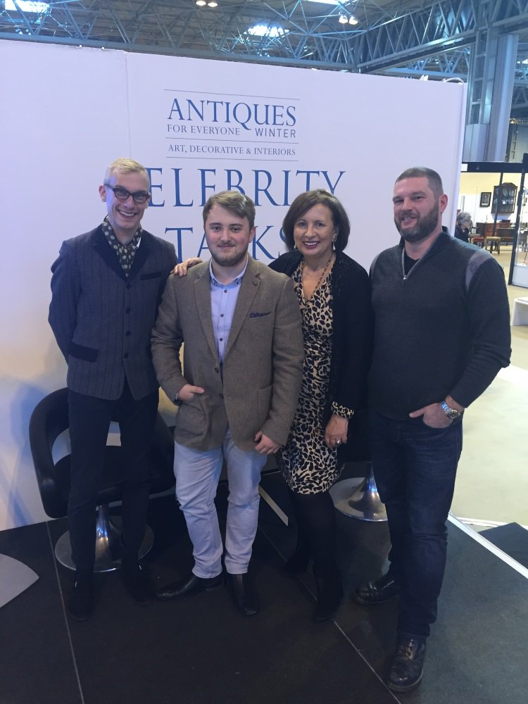proud moment @Antiques4Every1 new @AntiqYoungGuns chairman @TrinderJoseph aged just 22! @antiquemark @LadyKentmores https://t.co/UuXadHNWn8