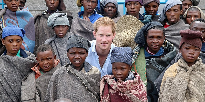 Prince Harry is spending Thanksgiving in Africa this year