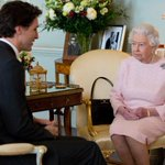 Nice to see you again, Queen Elizabeth II tells @JustinTrudeau in Buckingham Palace visit https://t.co/KAhUhuUKcW https://t.co/whewWTVOVq
