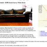 Never have I wanted a couch more #CraigslistAddoftheDay #furniturefinds #Vancouver https://t.co/i0EEmrcZc1 @CFOXvan https://t.co/jugZSSWkZq