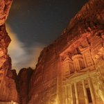 World Heritage site of #Petra turns orange to mark the launch of #16daysjo https://t.co/xRV5vdtJgs #orangetheworld https://t.co/Tb71qS2ooV