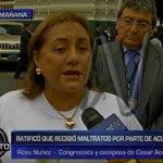 Rosa Núñez reiteró que César Acuña la maltrató cuando estaban casados https://t.co/OpWkUHhySd https://t.co/5lx26lbHJ9