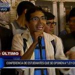 """[VIDEO] Estudiantes de San Marcos: Pedro Cotillo """"viene haciendo lo que le da en gana"""" https://t.co/NaHp1R4FJS https://t.co/TaJKVKonou"""