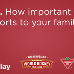 Q6. How important are sports to your family? #CTWickfest #WeAllPlay https://t.co/V3zhrcKzXf