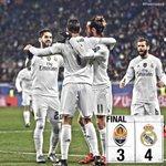 Final: Shakhtar 3-4 Real Madrid   (Teixeira 77, 88, Dentinho 83; Cristiano 18, 70, Modric 50, Carvajal 52) https://t.co/aMLbPFX6Su