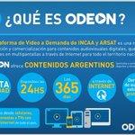 CFK presentó la Plataforma de Contenidos Audiovisuales #Odeon. Registrate y disfrutá: https://t.co/RxCKGCedJQ https://t.co/KwHu4BBPOt