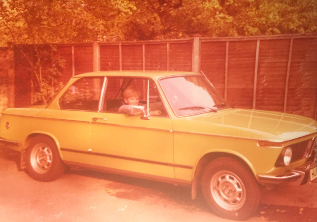 My love of @BMW, Summer 1976 , Mums 1602 https://t.co/0UdQzCsaNa