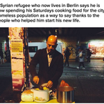 A Syrian refugee says he is spending his Saturdays cooking food for the homeless https://t.co/OgTiffCq8H https://t.co/pl2vUZ8xfM