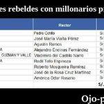 Estos son los 9 rectores de universidades públicas que se beneficiarían de la #LeyCotillo vía @Ojo_Publico https://t.co/SwbkAPuskd