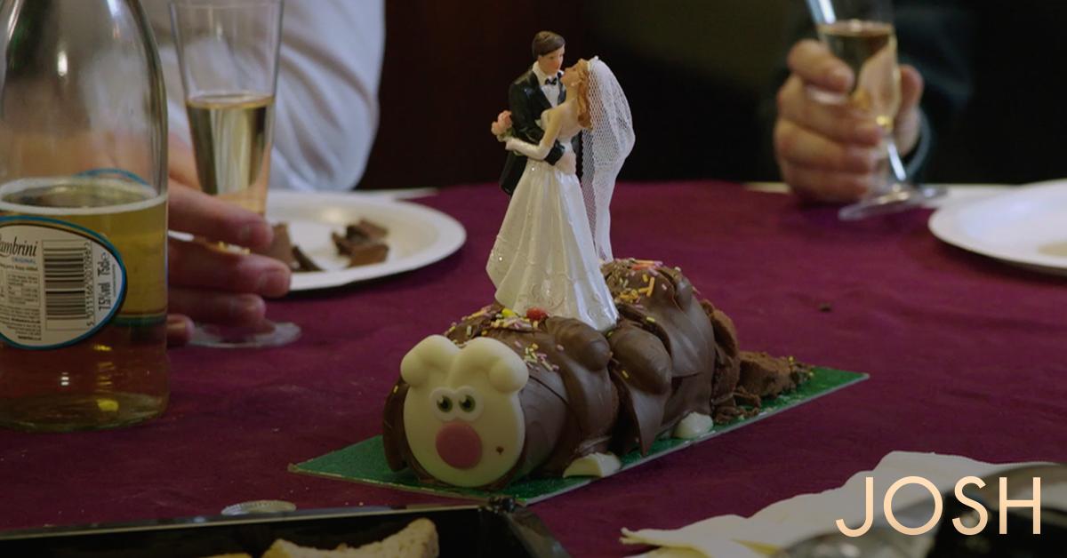 Wedding Guard The Cake