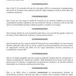 #Sucre | Decreto de júbilo no laborable los días 26 y 27 de Noviembre, por motivo de la celebración de los 500 años https://t.co/a6hKmlggLW