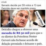 Senado mantém prisão de Delcídio Amaral (PT): 59 x 13 votos. 13 é um número cabalístico msm. https://t.co/EjnaBqmpN7 https://t.co/58YB4P16qZ