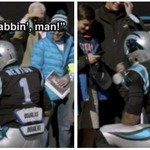 Cam Newton micd up with kids is the absolute best. https://t.co/AnTeMm0jOC https://t.co/HEHX901BLT