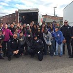 We teamed up w/ Heart 4 the World Christian Cntr @APDExplorers & @DenverPolice 2 give away turkeys to needy families https://t.co/eou95B5Gp9