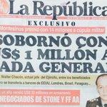 Un 25/11/00 @larepublica_pe revelaba como Montesinos había sobornado a Generales del Ejército leales a la dictadura. https://t.co/1t8EAJt4Ub
