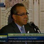 [VIDEO] Saavedra: rectores que no dejan sus cargos responden a intereses particulares https://t.co/pBNIX9gpka https://t.co/wKesZM29bD
