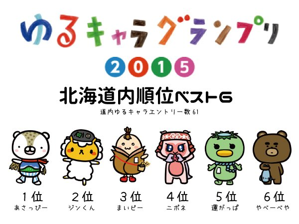 NAVER まとめ北海道のゆるキャラブームが来る!?「北海道新幹線」開業が追い風に