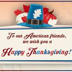 Best wishes to our American friends for a #HappyThanksgiving tomorrow! https://t.co/rrGxEU7cS2