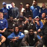 Happy thanksgiving from the UK Wide Receivers!  #BBN https://t.co/NZEcPCV9jL