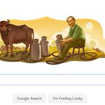 Google remembers Milk Man of India Verghese Kurien on his 94th birthday. https://t.co/C5GIAoBz38