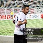 #Primera | MARCADOR FINAL: #ZamoraFC 3 (Flores 16, Moreno 42, 48 -p-) #CaracasFC 1  (Maita 88). #FutVE https://t.co/MOcVVmkbP9