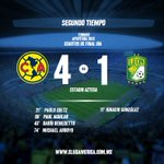 80 Últimos 10 minutos de juego @ClubAmerica 4-1 @clubleonfc #JuntosPorLaGloria https://t.co/Lyp7tTyCxh