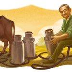 Happy Birthday Dr Kurien The Milk Man of India! #TweetToFarmer https://t.co/Ep0t430sml